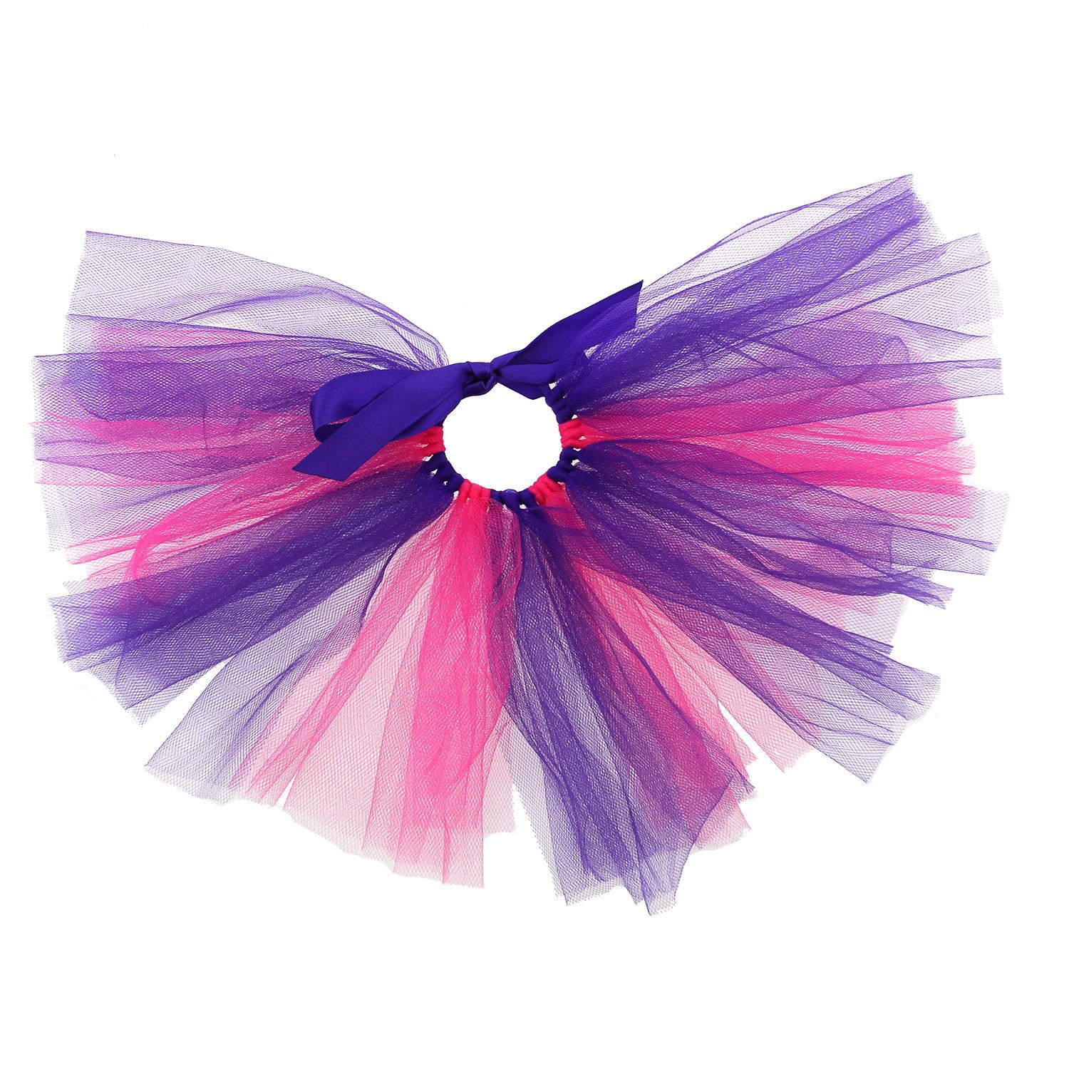 Pink/Purple Tulle Dog Tutu by Pawpatu