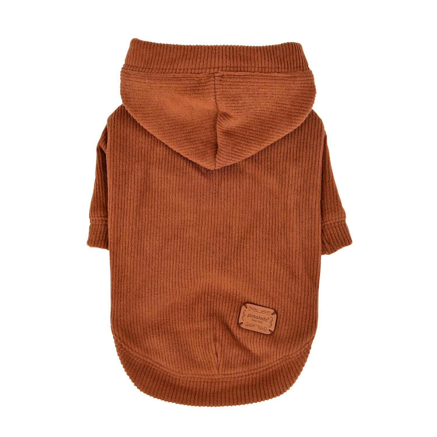 Pippa Dog Hoodie by Pinkaholic - Camel