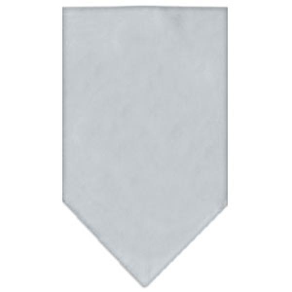 Plain Dog Bandana - Gray