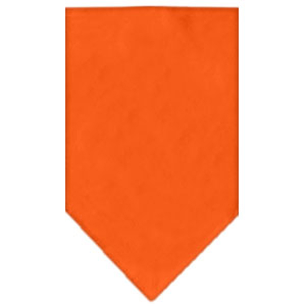 Plain Dog Bandana - Orange