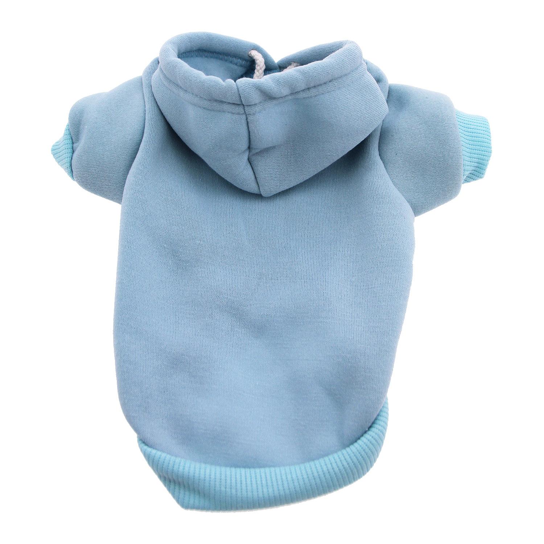7a833c008 Plain Dog Hoodie - Baby Blue | BaxterBoo