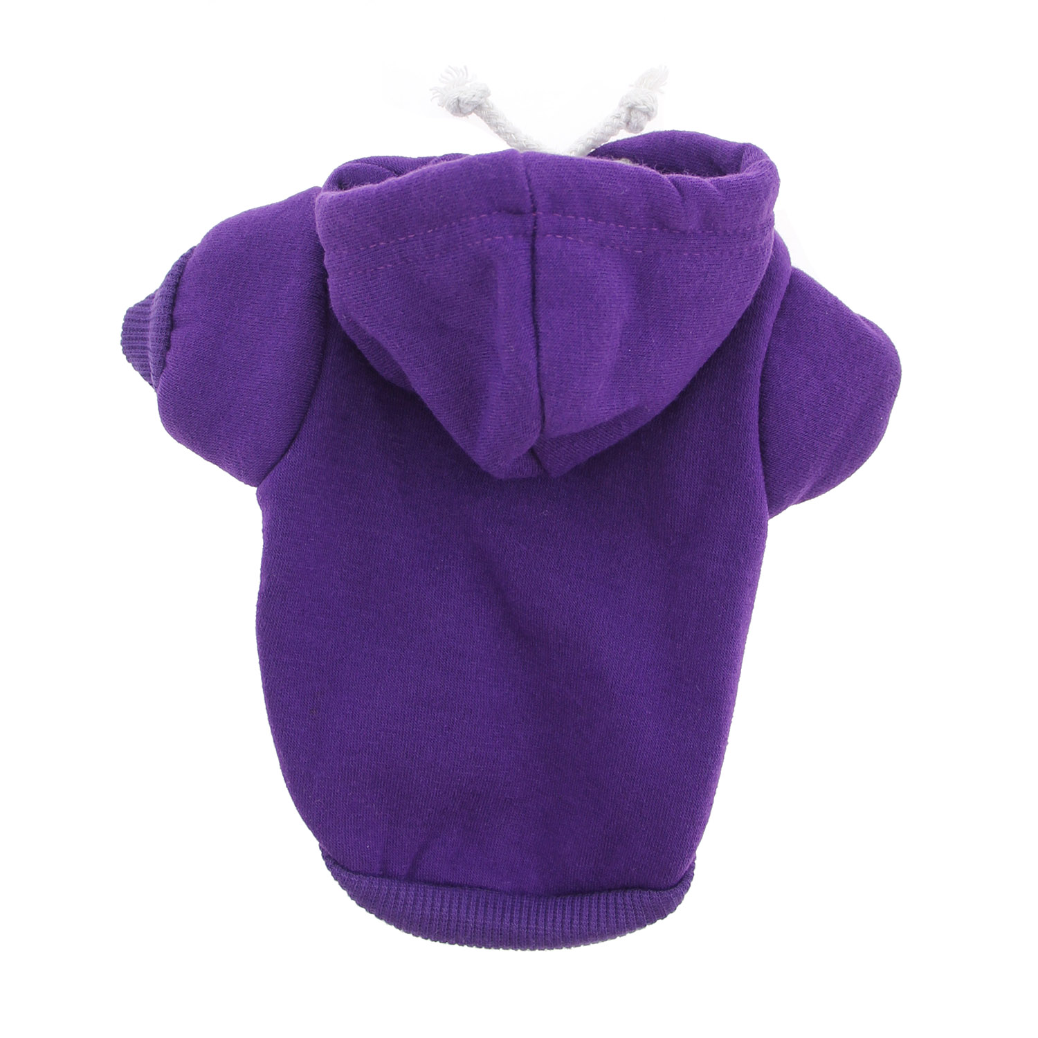 Plain Dog Hoodie - Purple