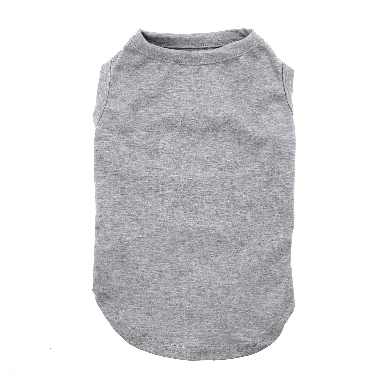 Plain Dog Shirt - Gray