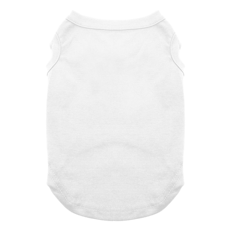 Plain Dog Shirt - White