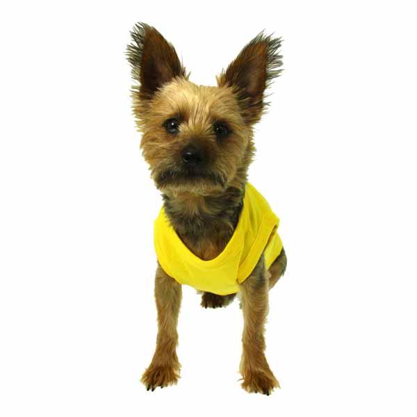 Plain Dog Shirt - Yellow
