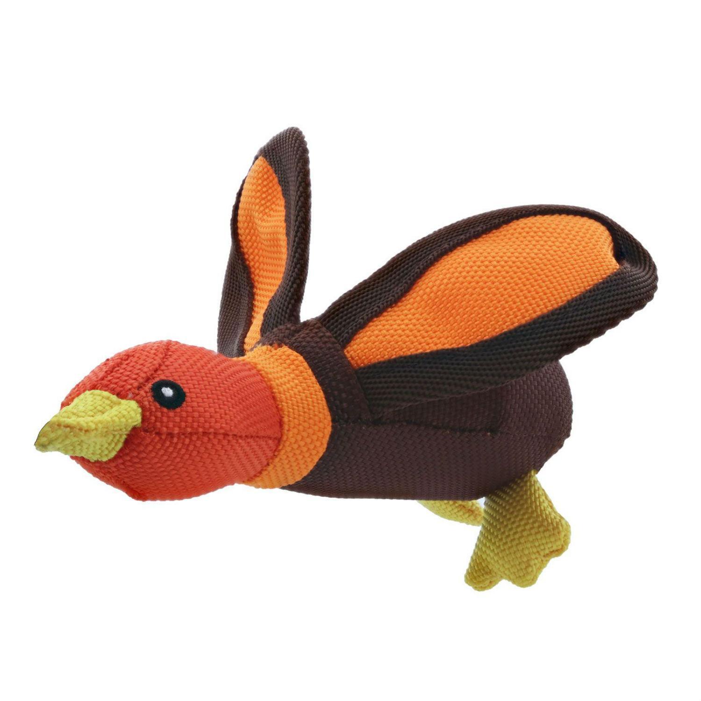 Play 365 Ballistic Duck Dog Toy - Orange