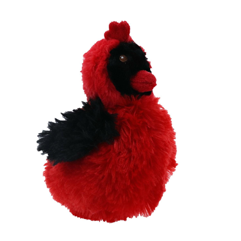 Play 365 Chonky Bird Dog Toy - Cardinal