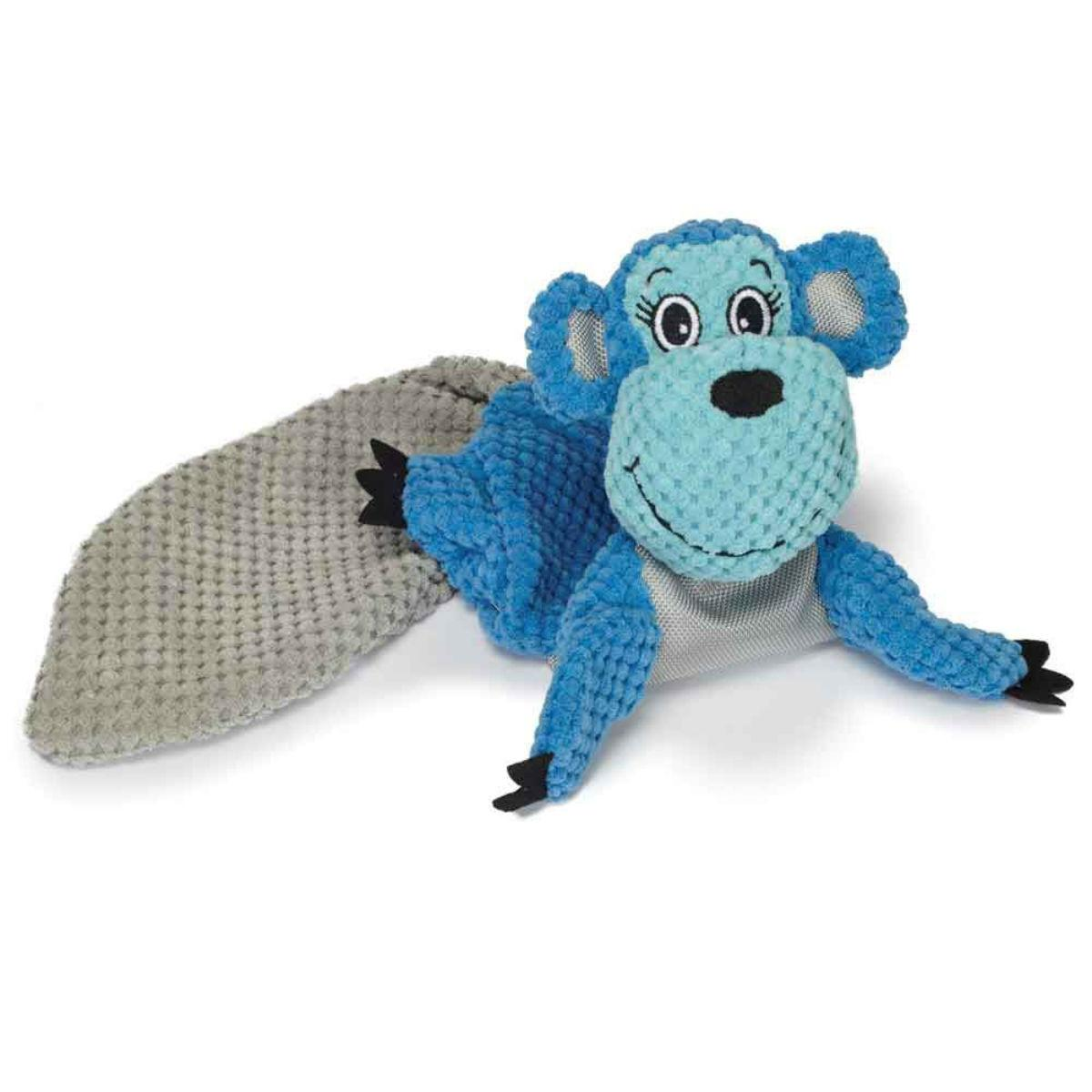 Play 365 Crinkle Flatty Dog Toy - Monkey