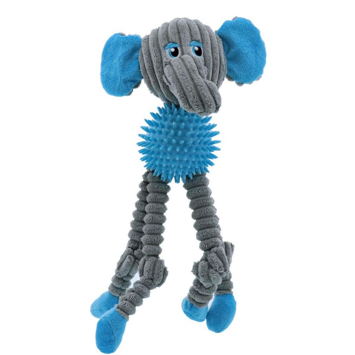 Play 365 Spike Society Dog Toy - Elephant