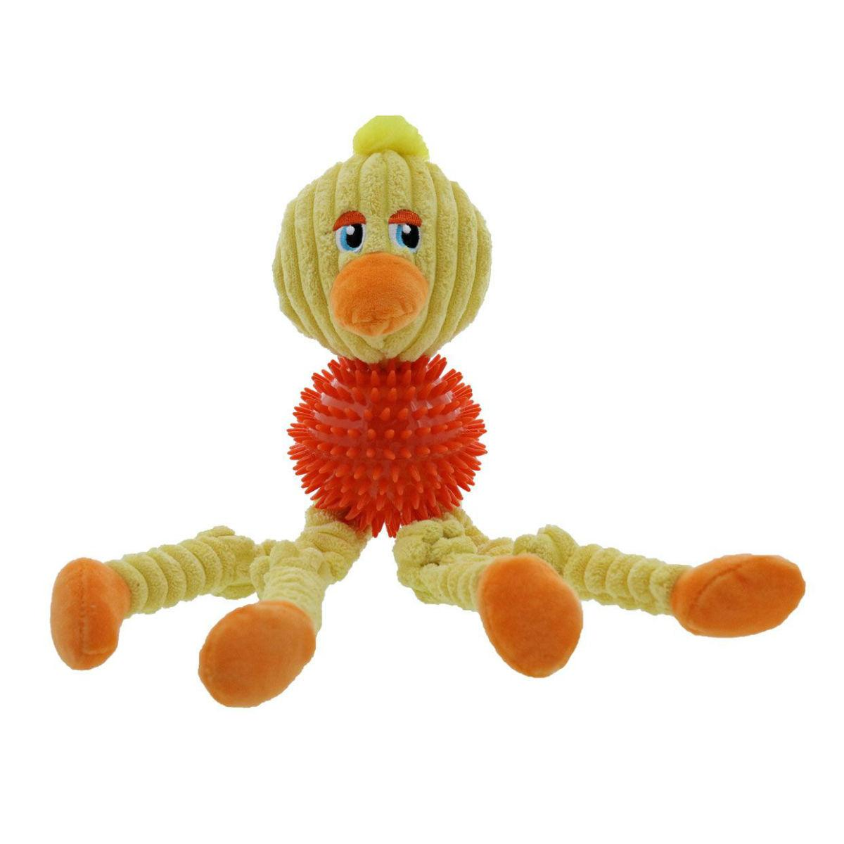 Play 365 Spike Society Dog Toy - Duck