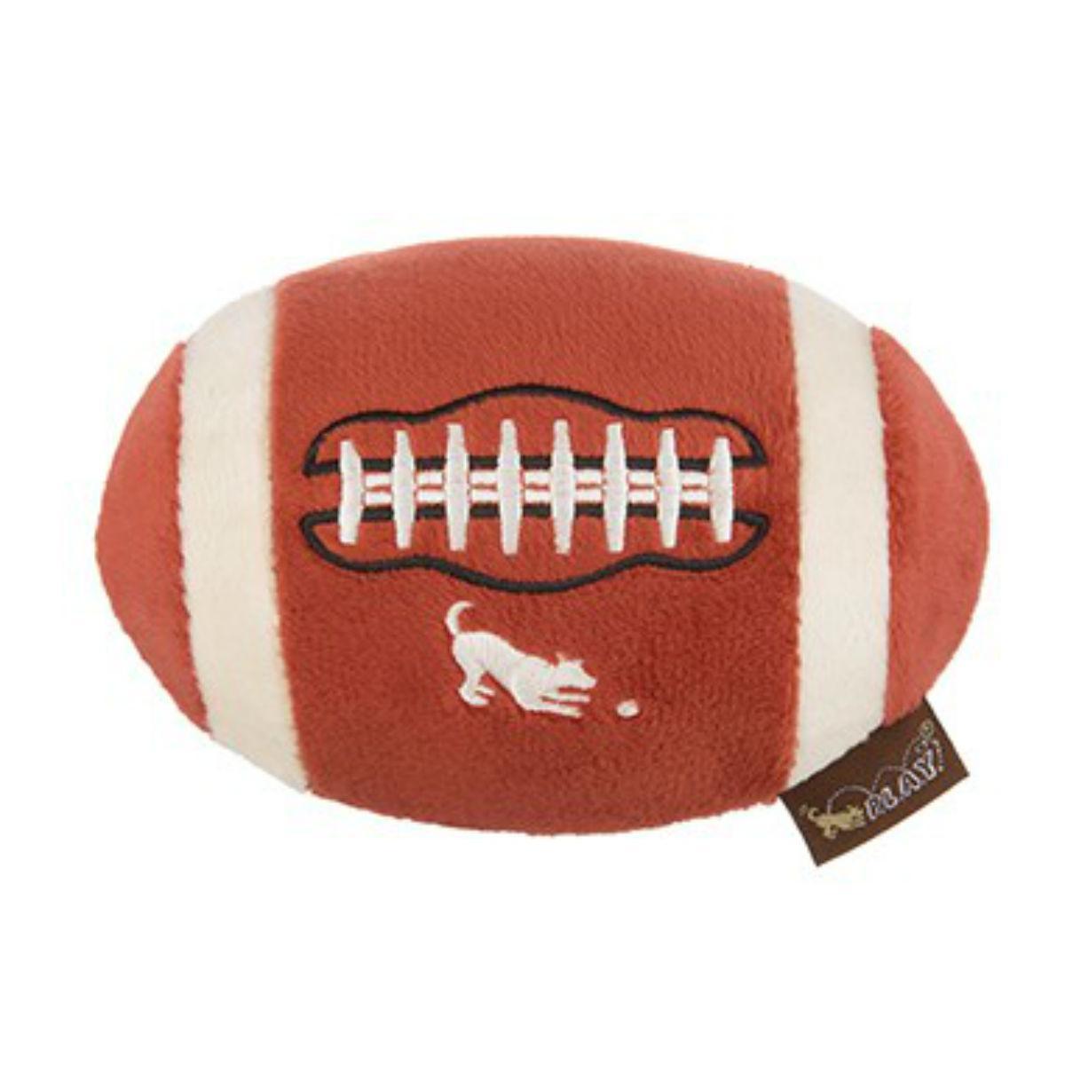 P.L.A.Y. Back to School Dog Toy - Football