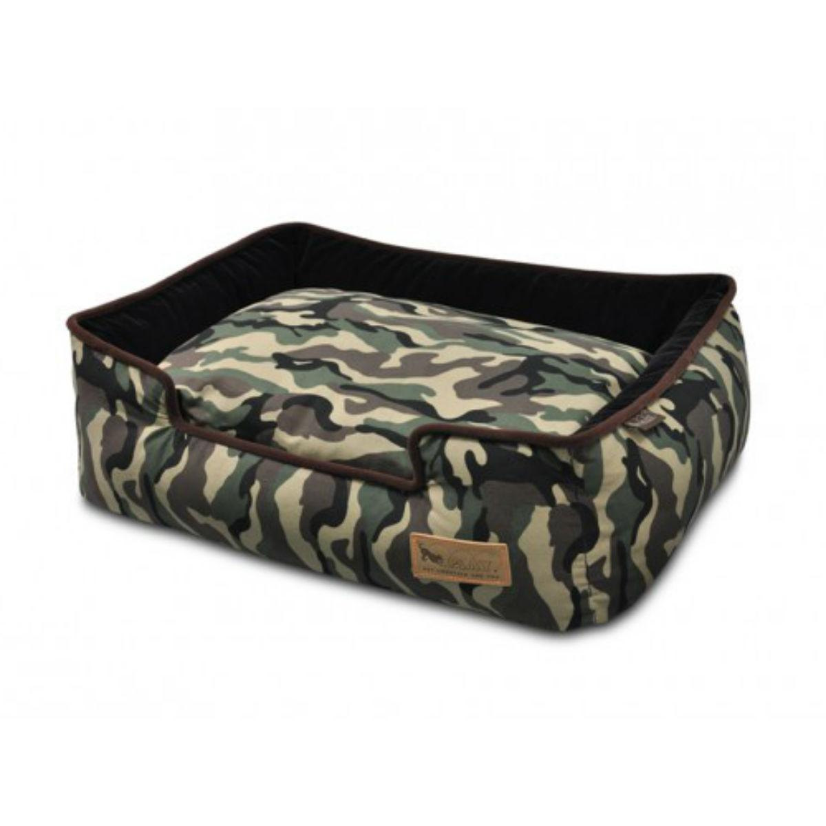 P.L.A.Y. Camouflage Lounge Dog Bed - Green