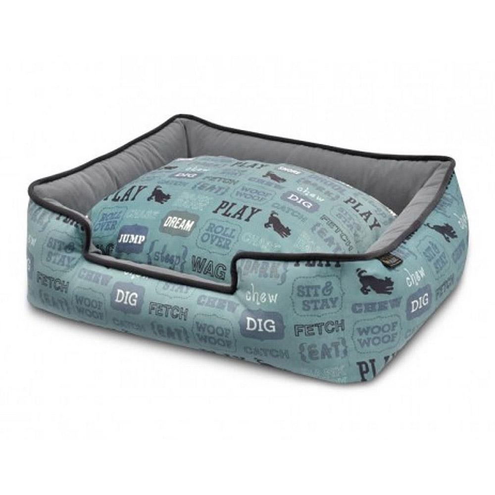 P.L.A.Y. Dog's Life Lounge Dog Bed - Powder Blue