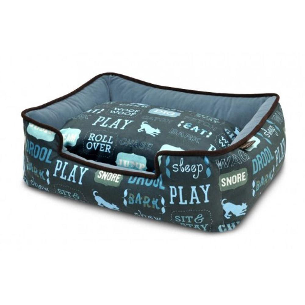 P.L.A.Y. Dog's Life Lounge Dog Bed - Sofa Blue