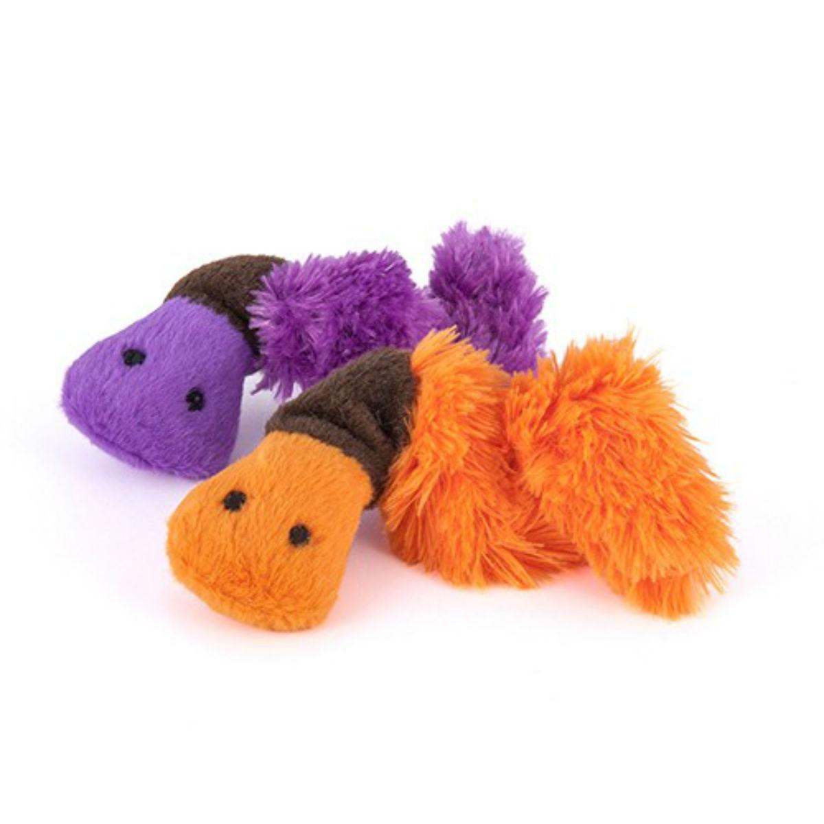P.L.A.Y. Feline Frenzy Cat Toy - Wiggly Wormies 2 Toy Set