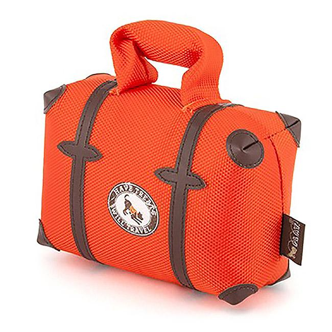 P.L.A.Y. Globetrotter Dog Toy - Pack and Snack Suitcase