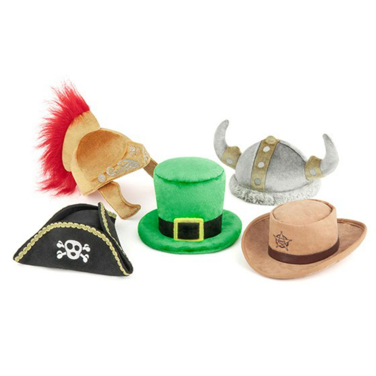 P.L.A.Y. Mutt Hatter Dog Toy Collection - 5 Piece Set