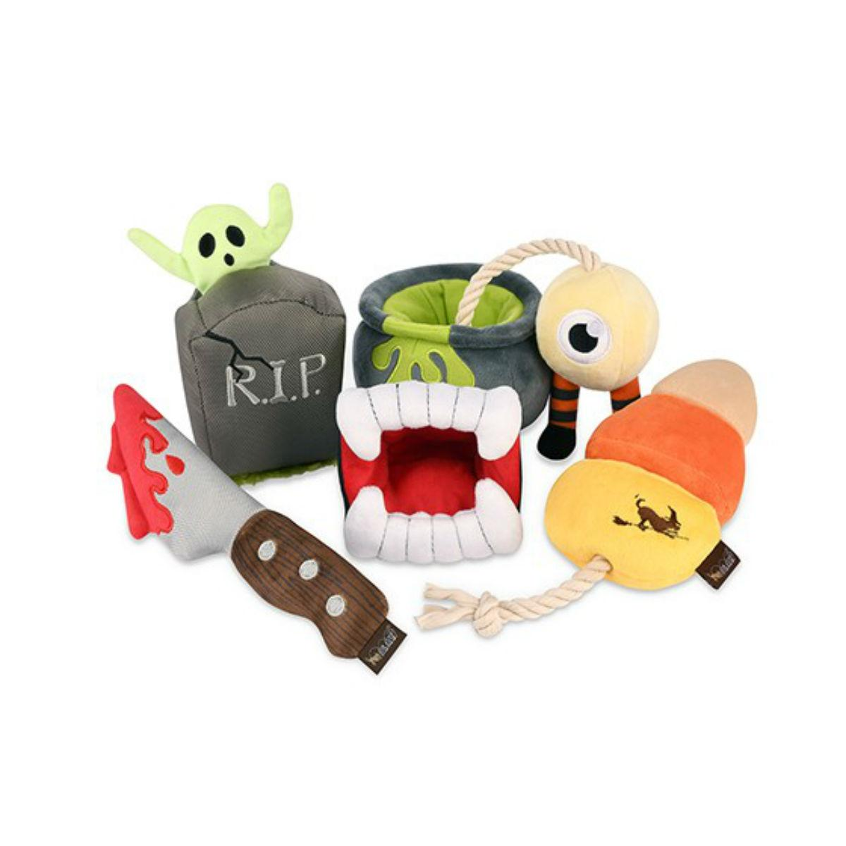 P.L.A.Y. Howling Haunts Dog Toy Collection - 5 Piece Set