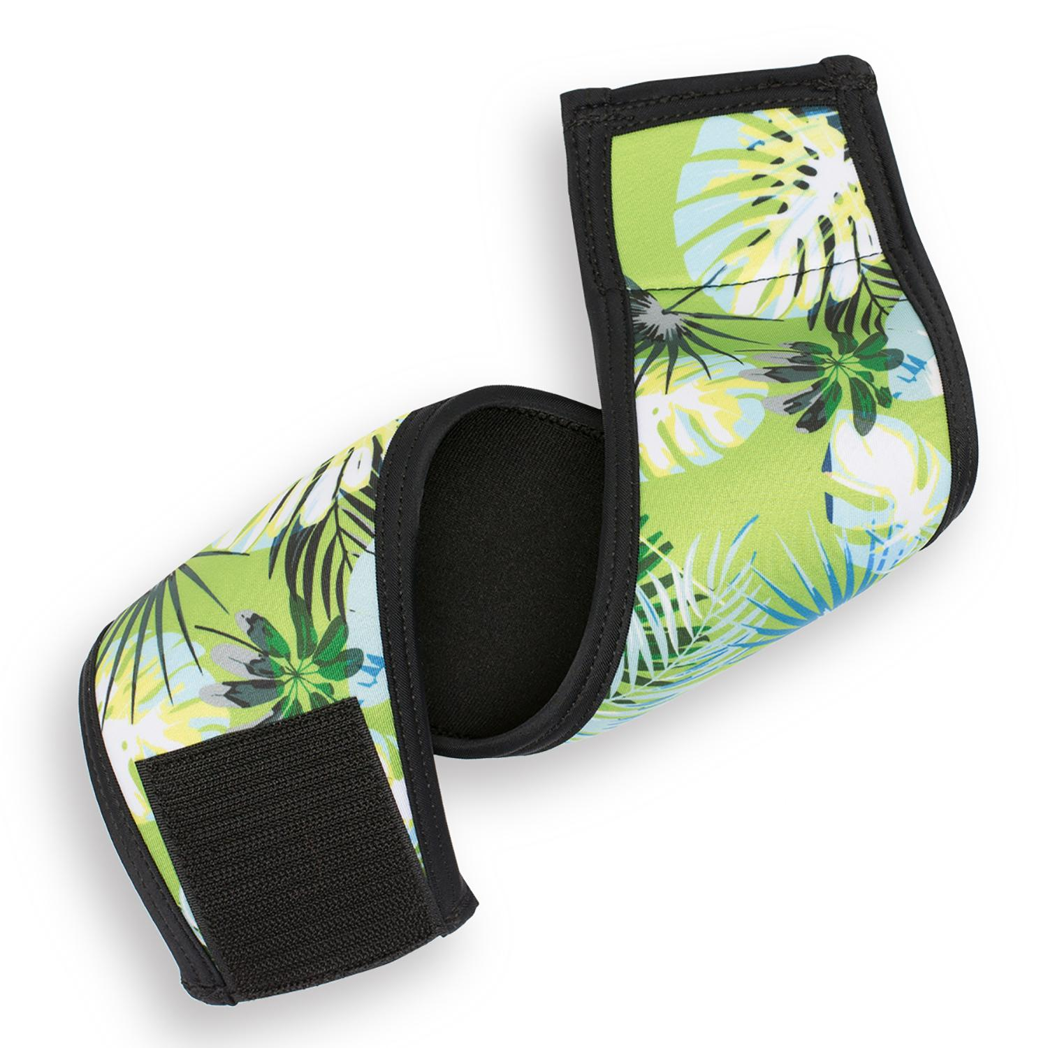 Playa Pup Dog Belly Band - Tropical Treasure Green
