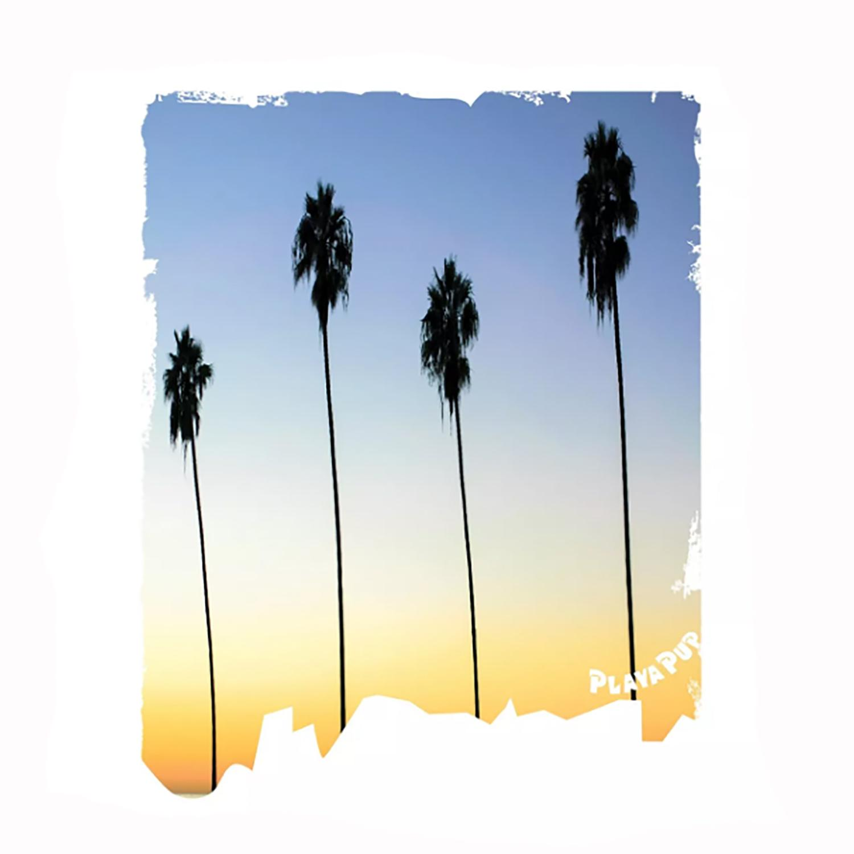 Playa Pup Sun Protection Dog Tank - Palm Tree