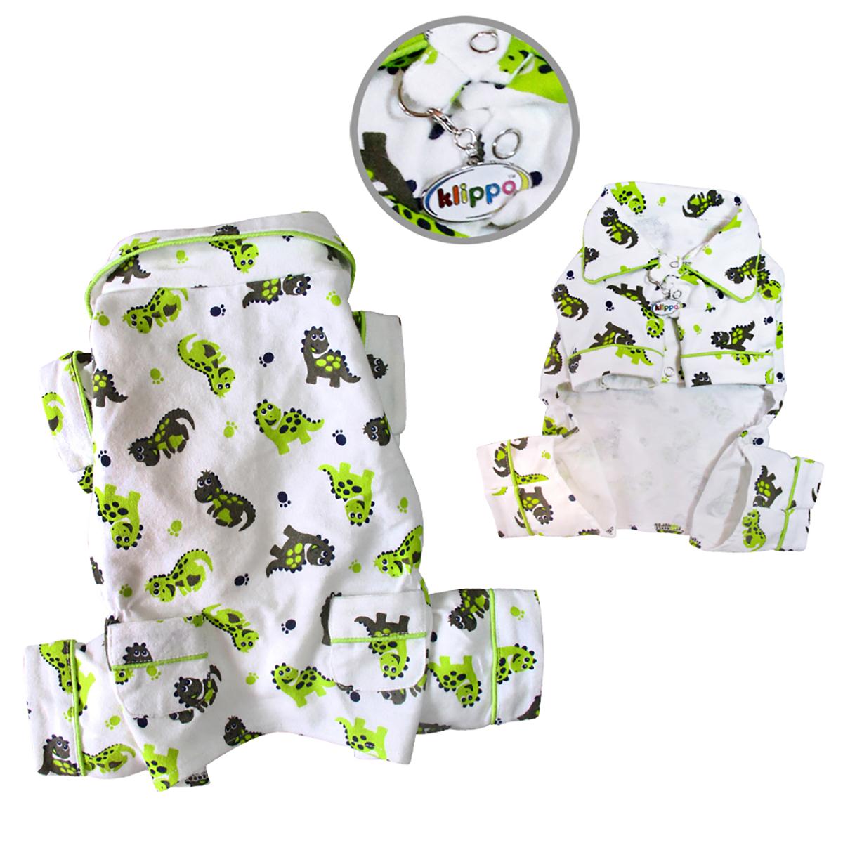 Playful Dinosaurs Dog Pajamas by Klippo