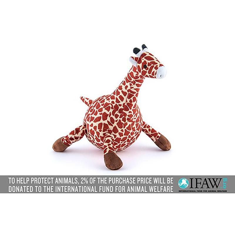 P.L.A.Y. Safari Dog Toy - Gabi the Giraffe