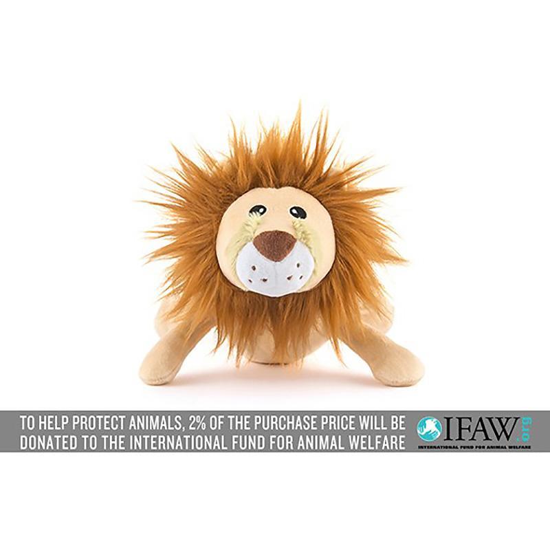 P.L.A.Y. Safari Dog Toy - Leonard the Lion