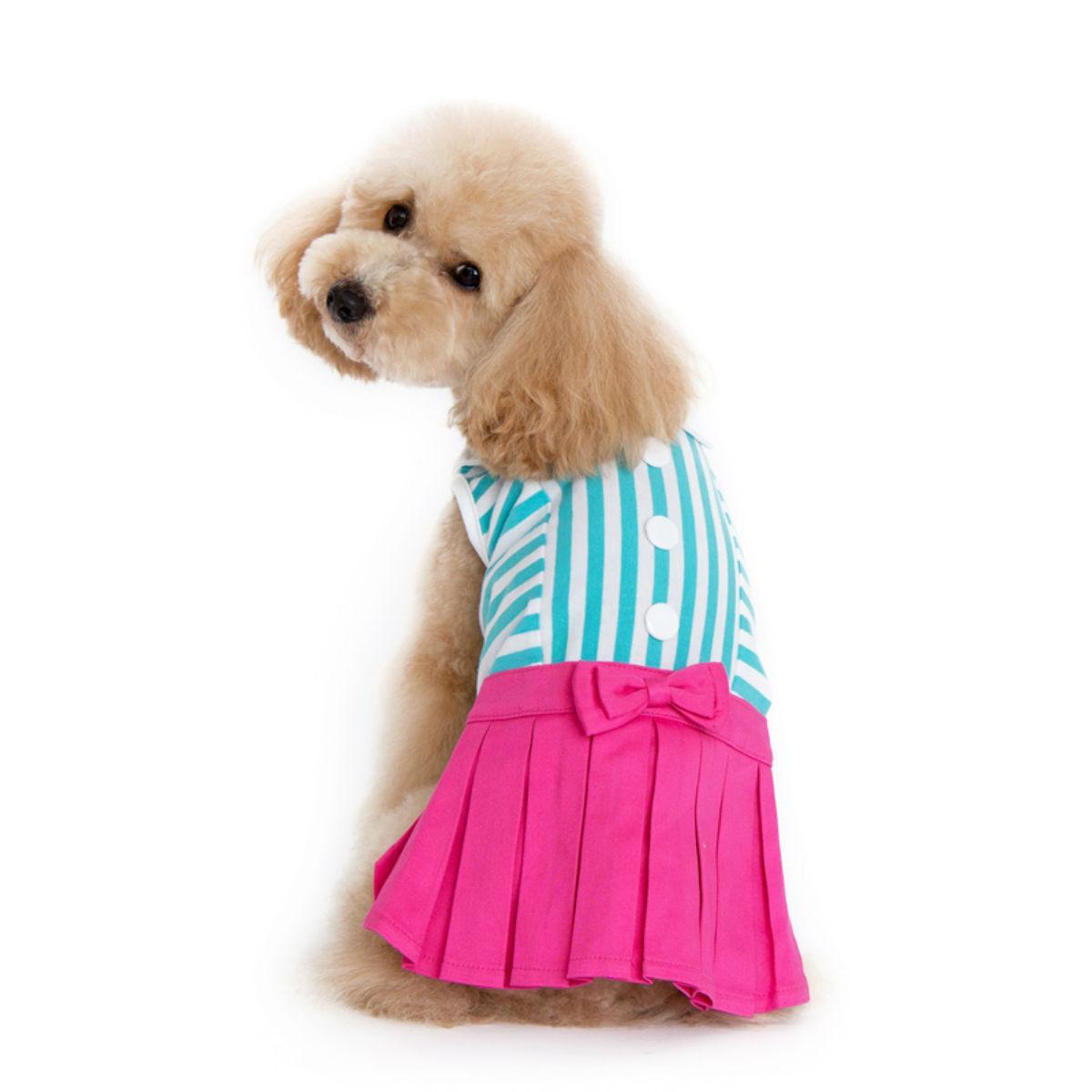 Pleated Tennis Dog Dress by Dogo