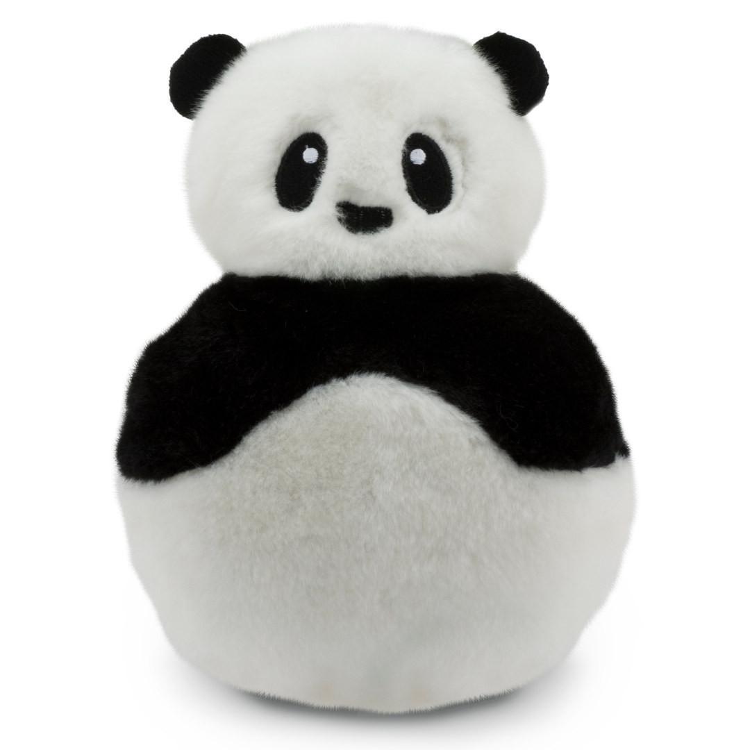 Busy Buddy Pogo Plush Dog Toy - Panda