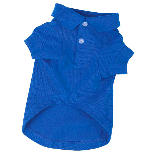 Polo Dog Shirt - Nautical Blue