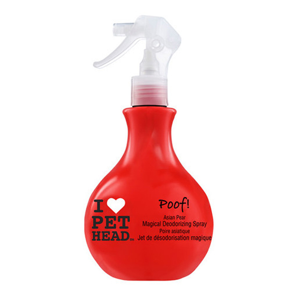 POOF! Yummy Orange Magical Deodorizing Dog Spray by Pet Head