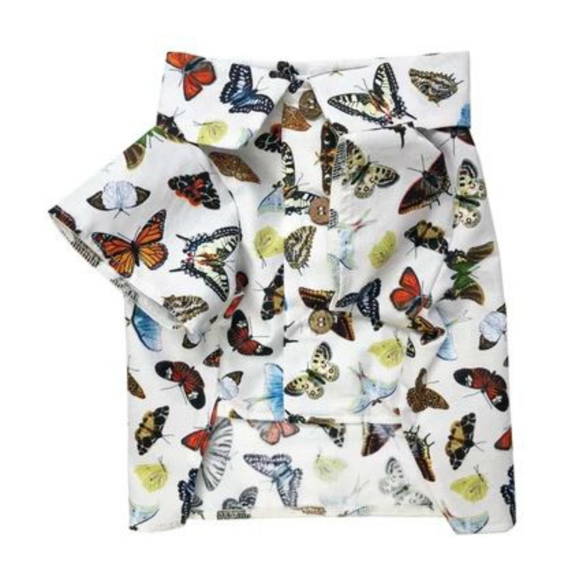 Social Butterfly Dog Shirt by Dog Threads
