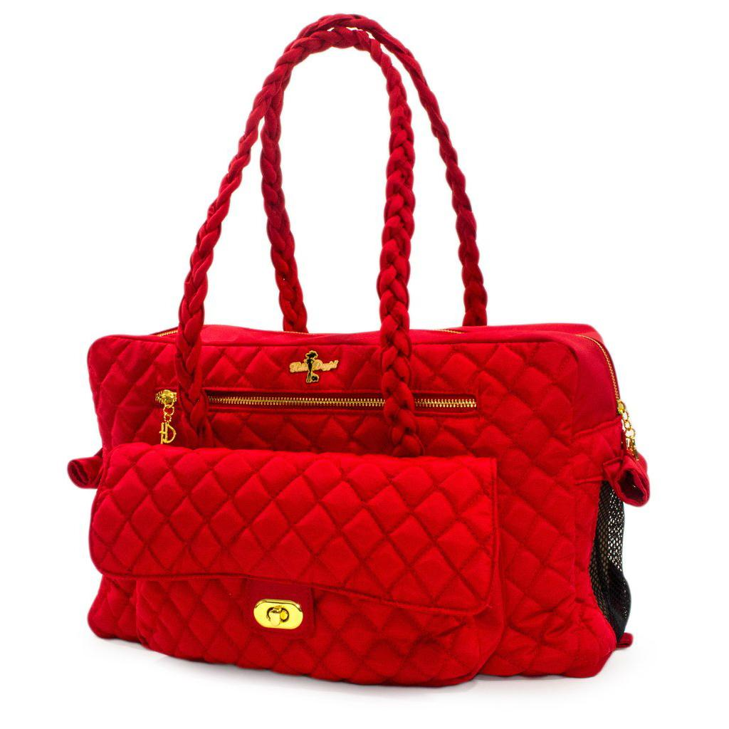 Porsha Dog Carrier by Hello Doggie - Red