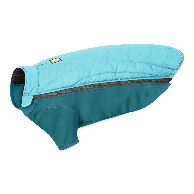 Powder Hound Dog Jacket by RuffWear - Blue Atoll