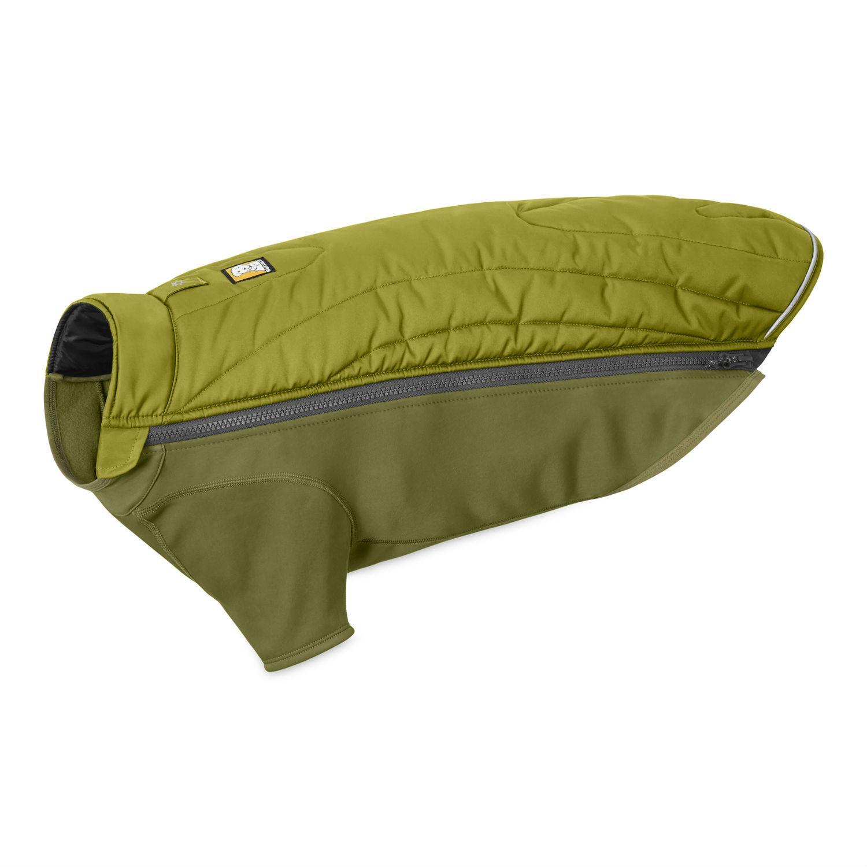 Powder Hound Dog Jacket by RuffWear - Forest Green