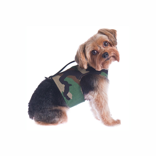 Power Reversible Dog Harness - Camo & Brown