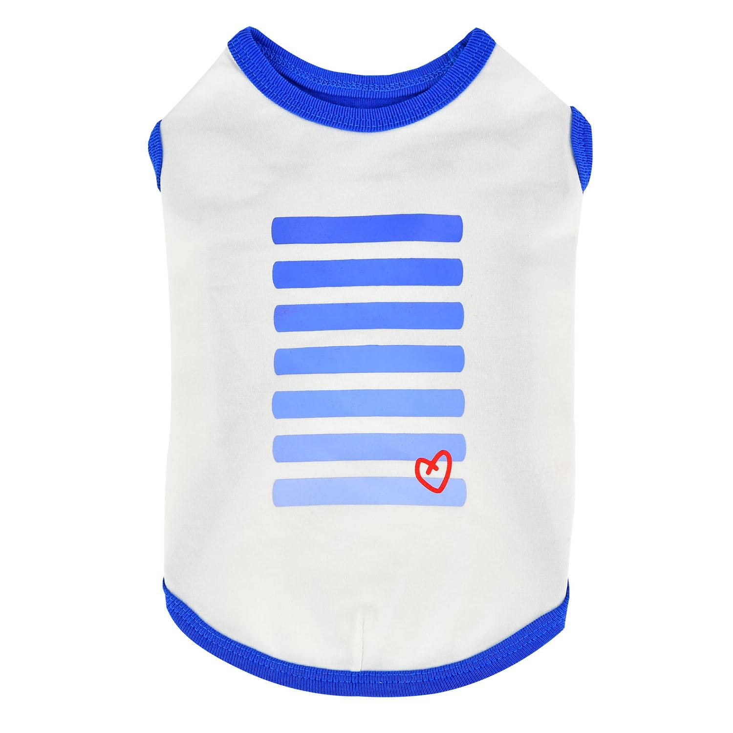 Powerup Dog Tank by Puppia - Royal Blue