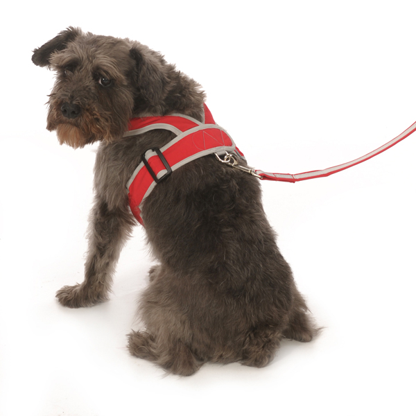 Precision-Fit Nylon Dog Harness - Red