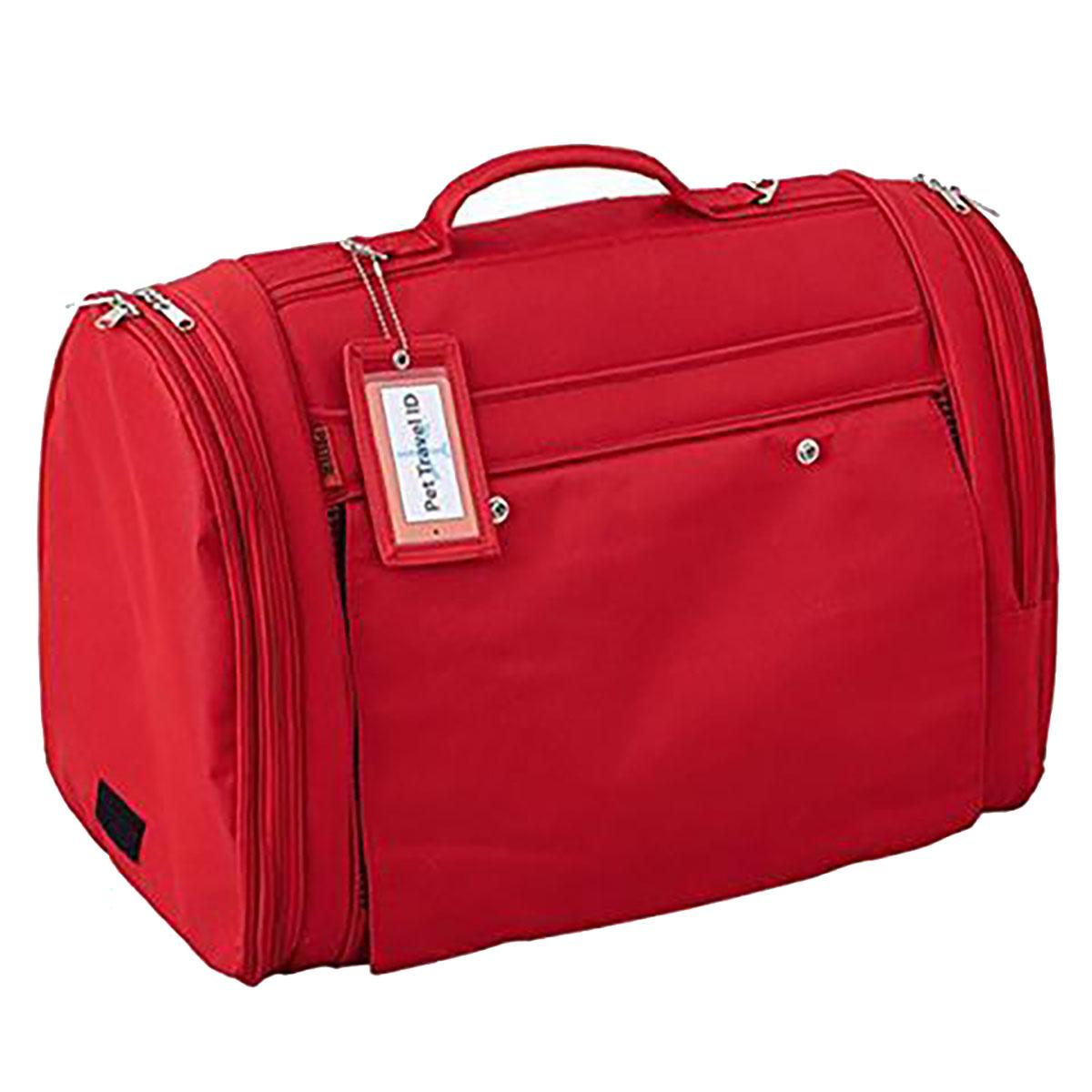 Prefer Pets XL Hideaway Backpack Pet Carrier - Red