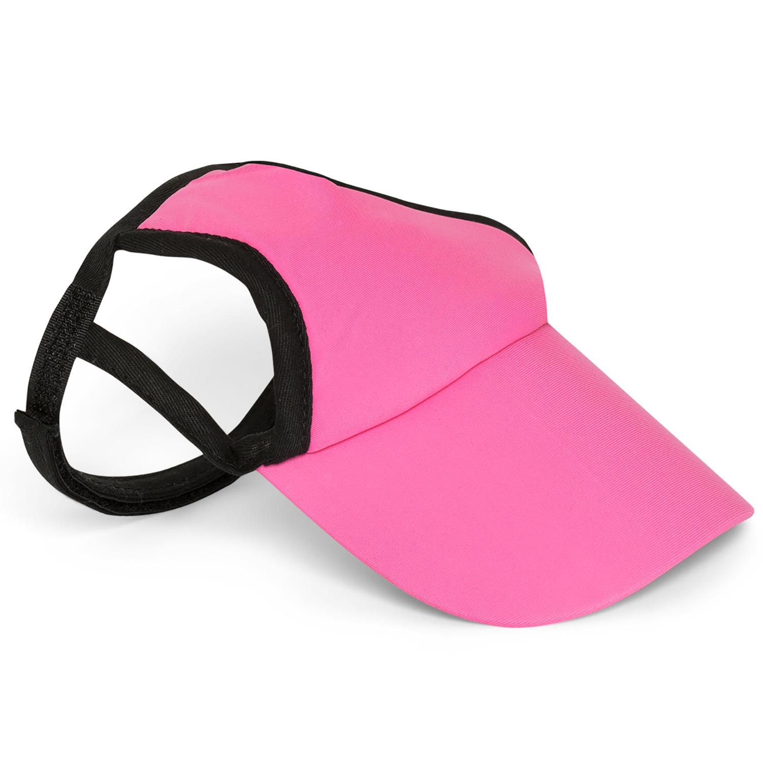 Pretty Pink Dog Visor by Playa Pup