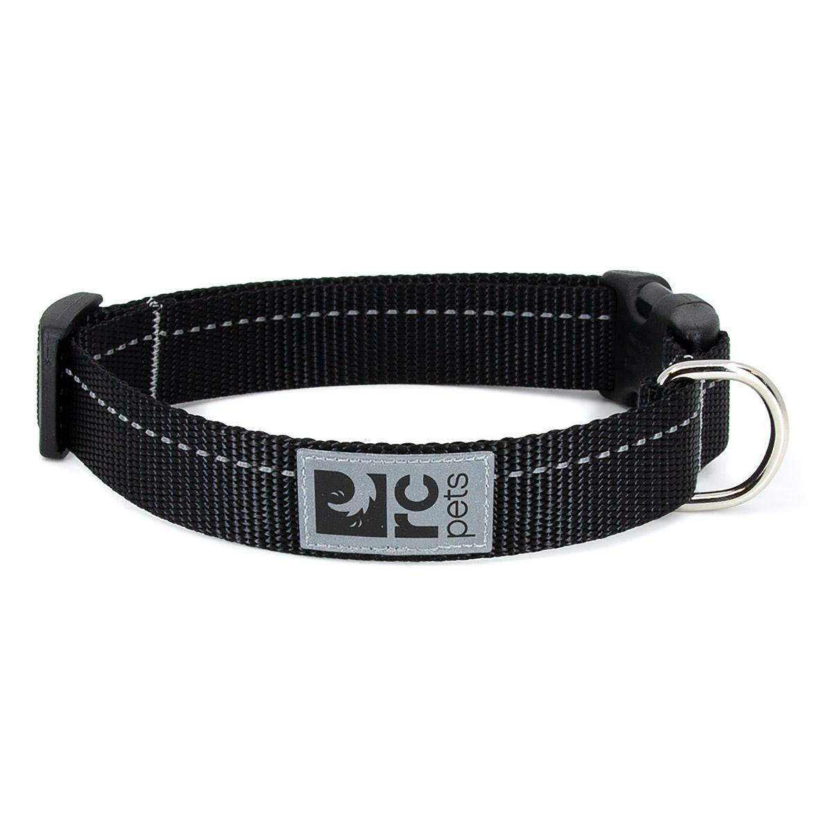 Primary Clip Dog Collar - Black