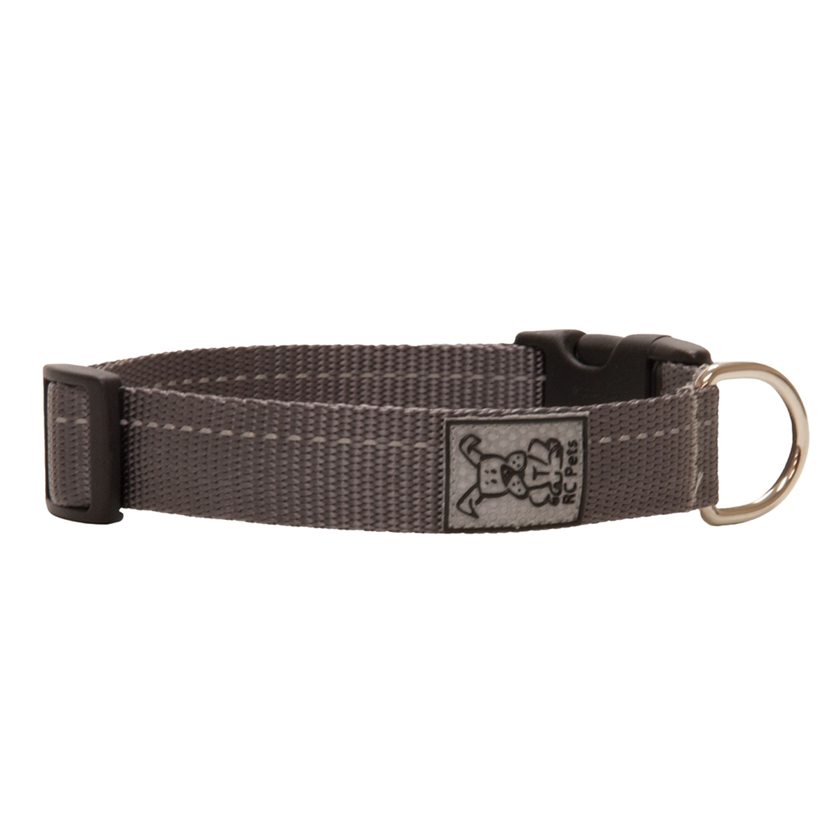 Primary Clip Dog Collar - Charcoal