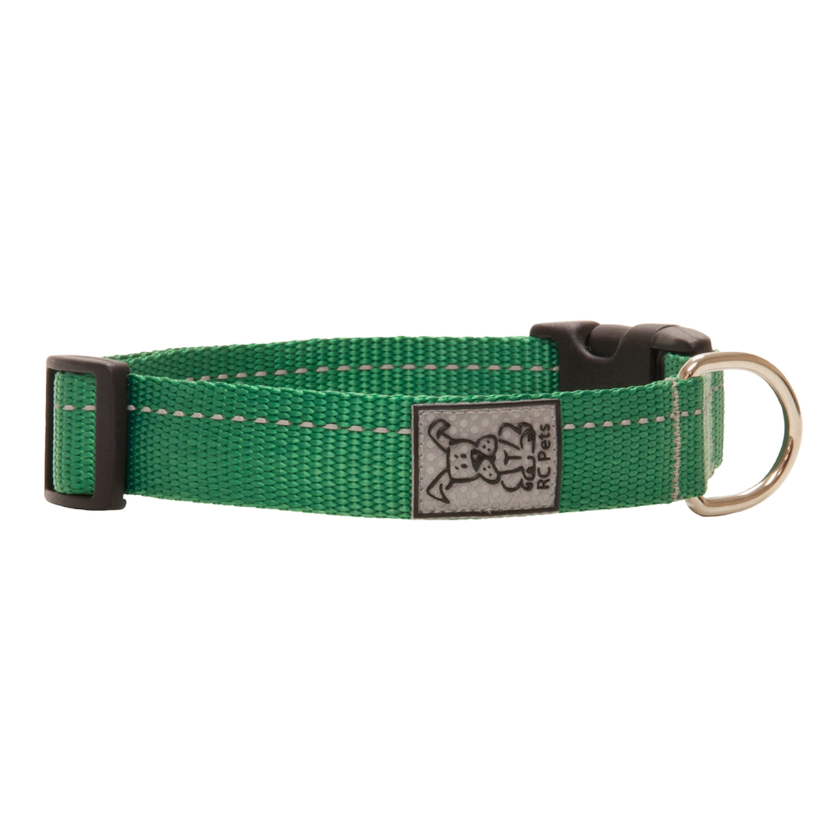 Primary Clip Dog Collar - Green