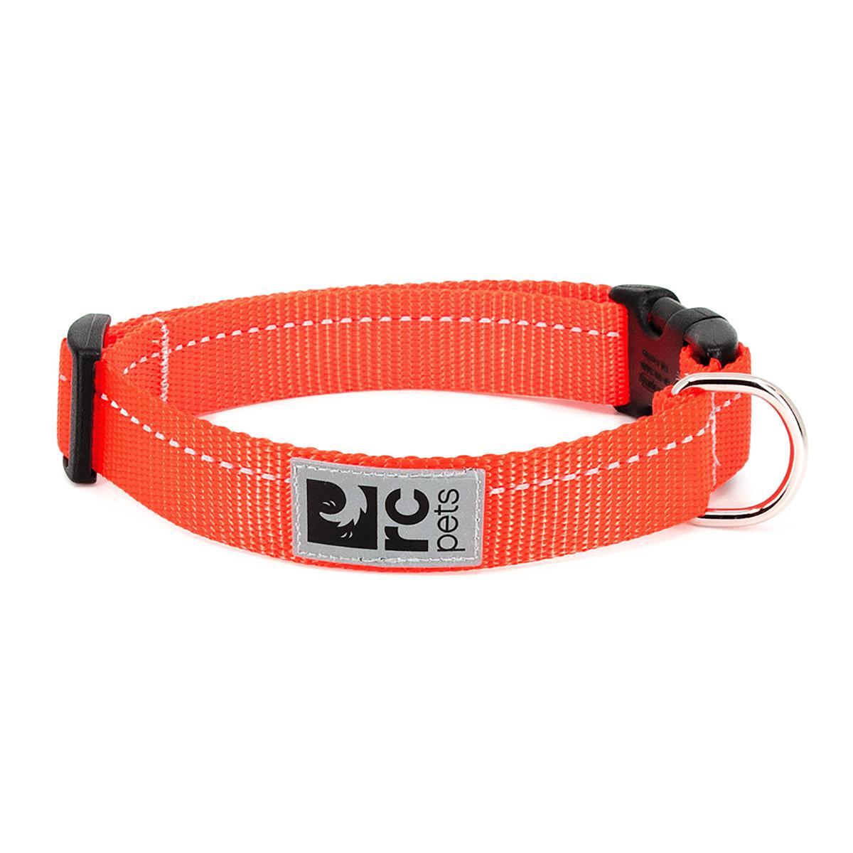 Primary Clip Dog Collar - Orange
