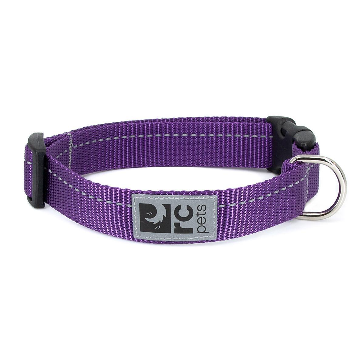 Primary Clip Dog Collar - Purple