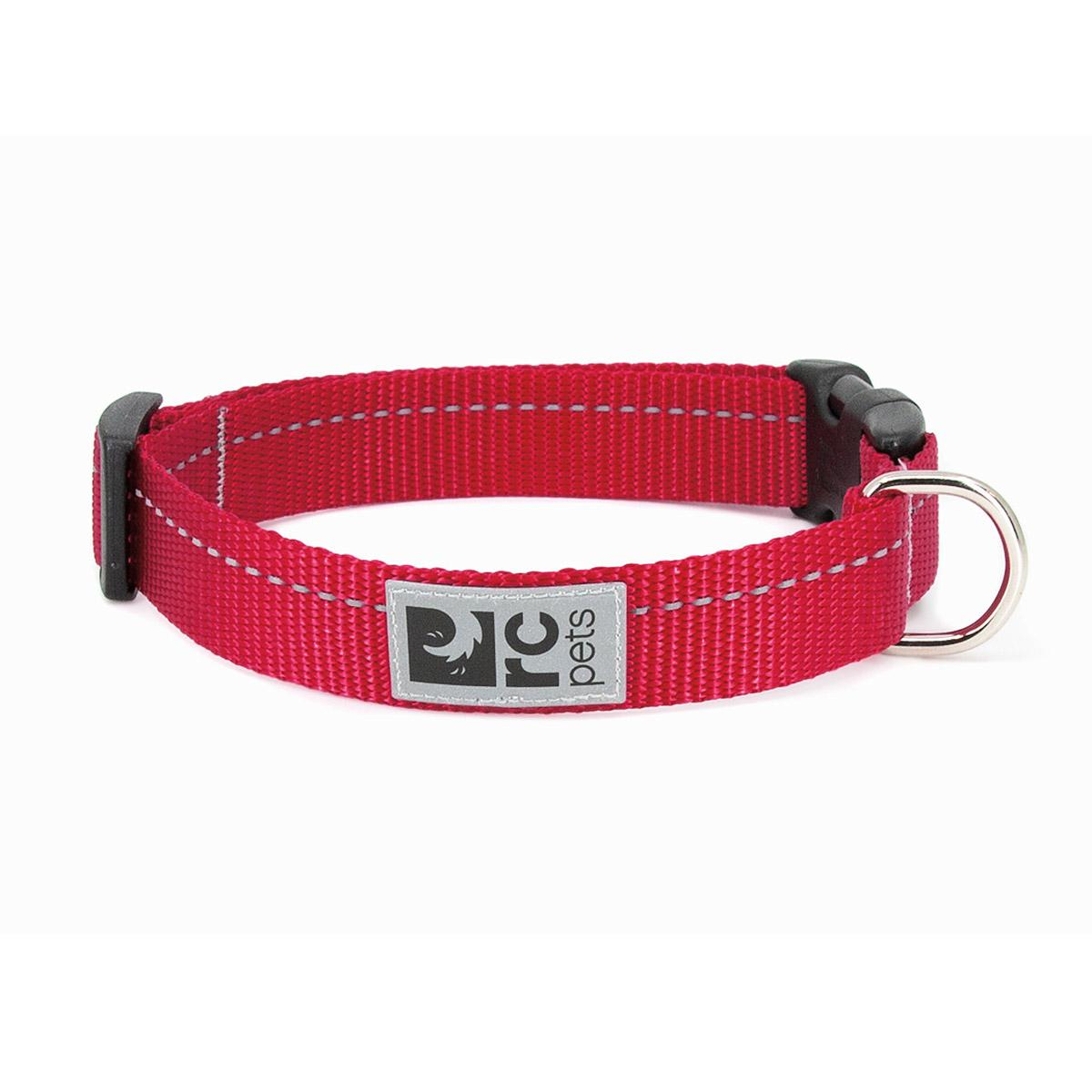 Primary Clip Dog Collar - Red