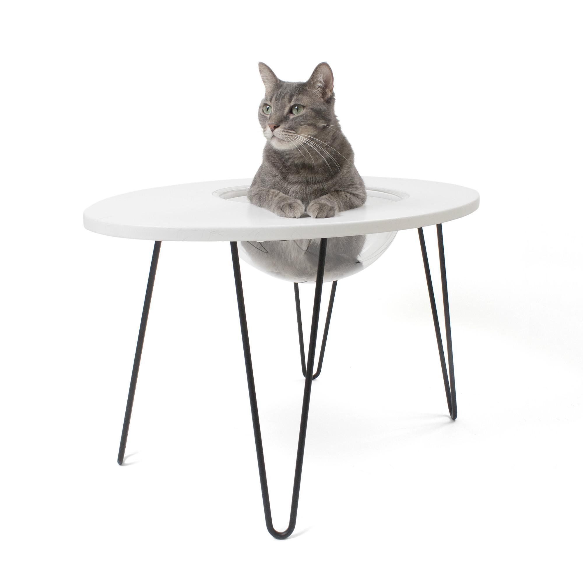 Primetime Petz Hauspanther NestEgg Side Table & Cat Bed