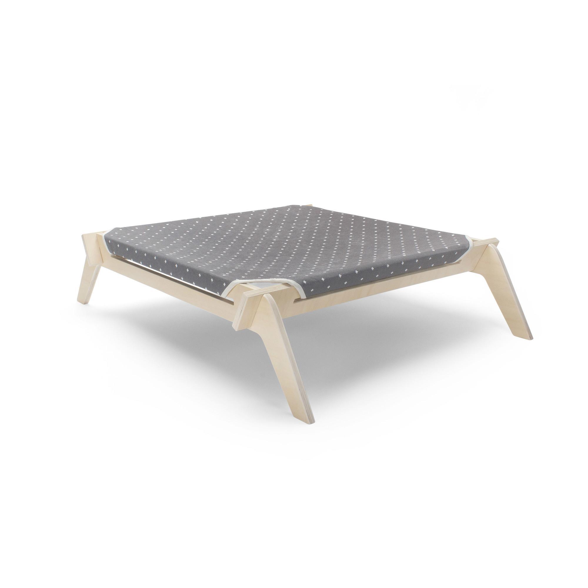 Primetime Petz Reversible Designer Dog Lounge - Gray/Neutral