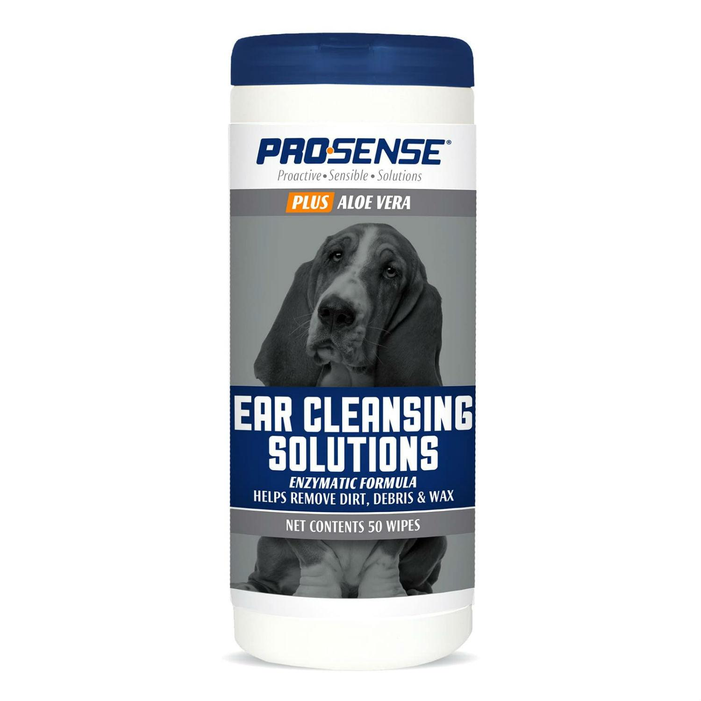 ProSense Plus Ear Cleansing Solutions Enzymatic Formula Dog Wipes