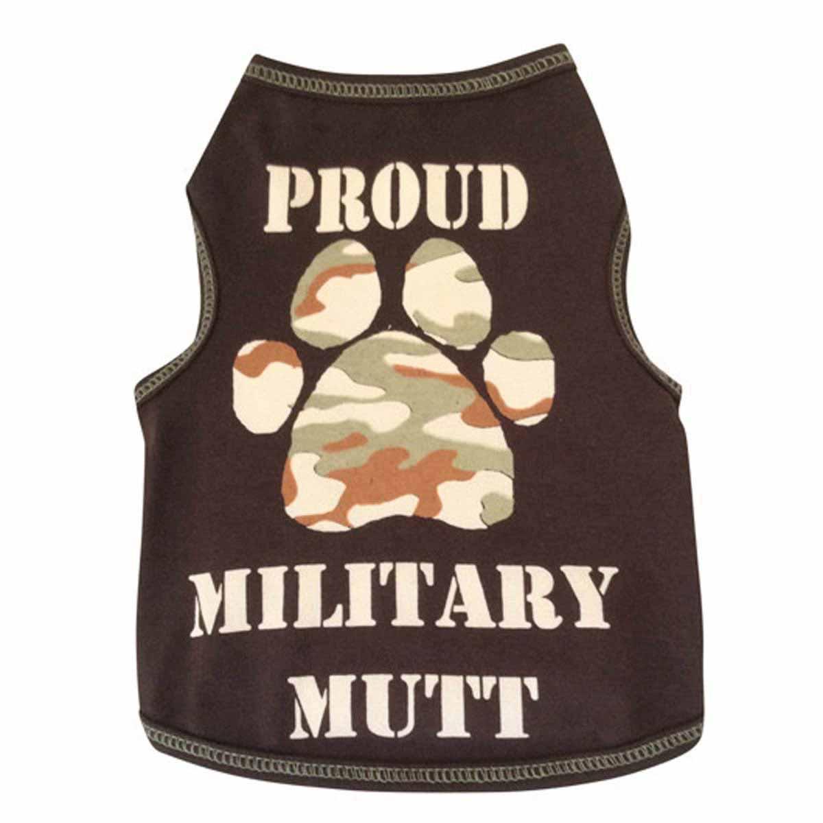 Proud Military Mutt Dog Tank